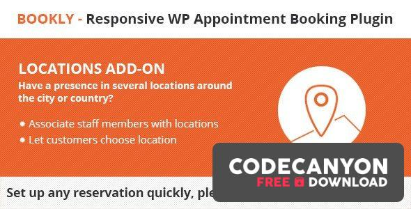 Download Bookly Locations (Add-on) v3.6 Free / Nulled
