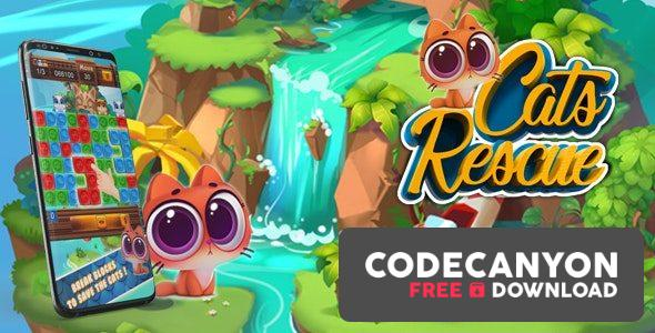Download cats rescue (Android Studio+Admob+GDPR) (3 september 2020) Free / Nulled