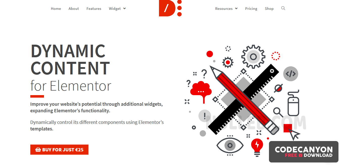 Download Dynamic Content for Elementor v1.10.1 – Most Advanced Widgets for Elementor (Nulled) Free / Nulled