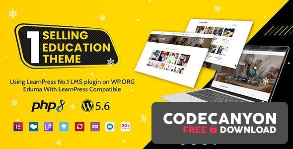 Download Eduma v4.3.5 – Education WordPress Theme (Nulled) Free / Nulled