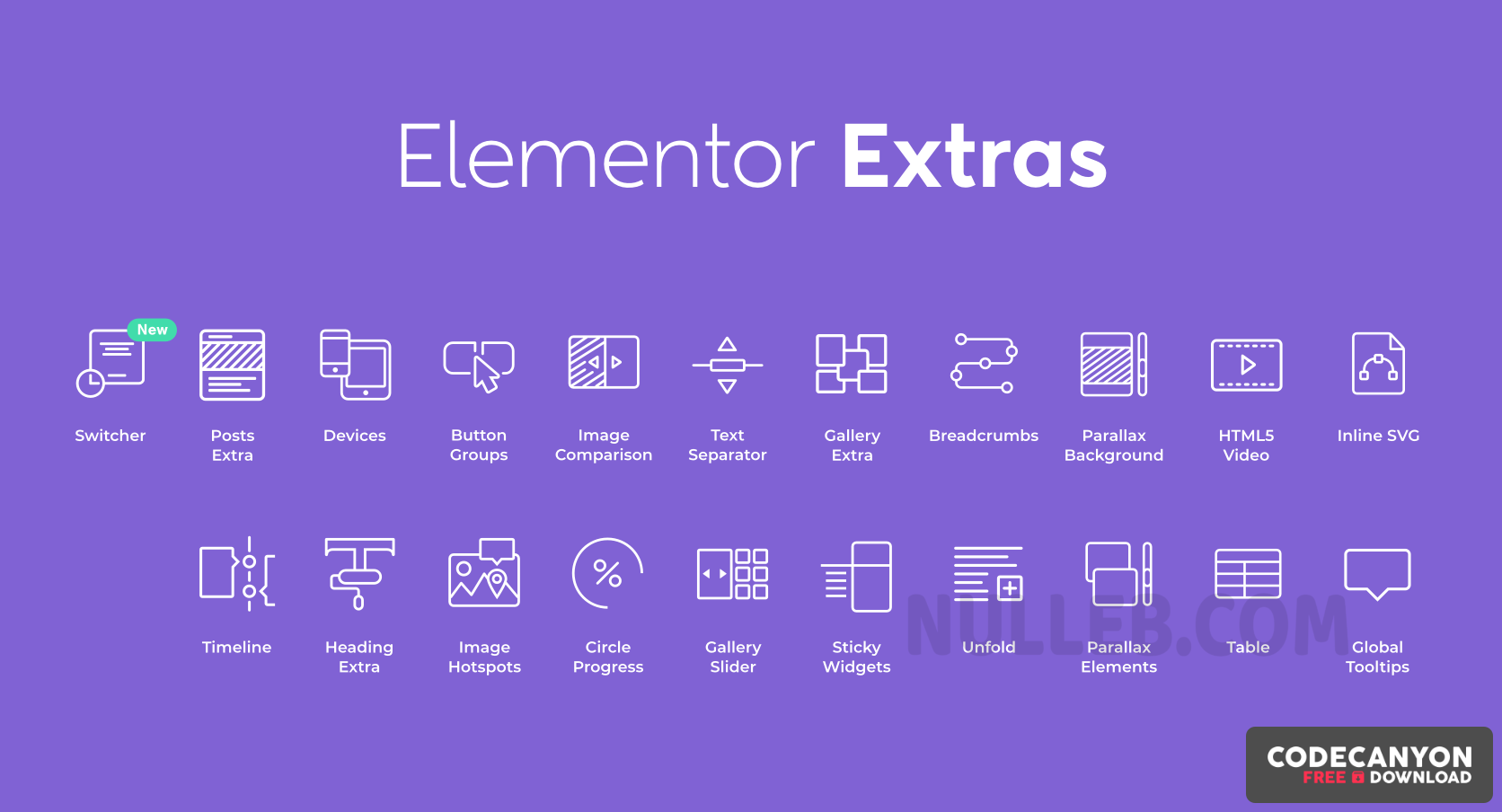 Download Elementor Extras v2.2.44 – Widgets and Extensions for Elementor (Nulled) Free / Nulled