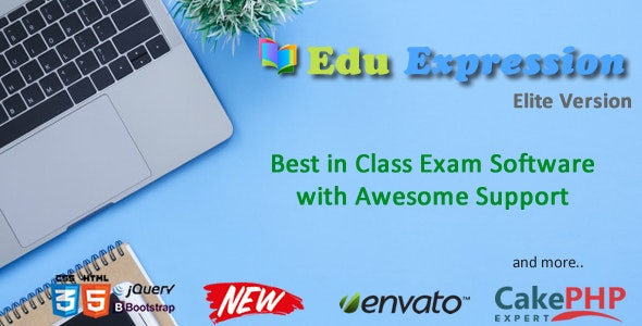 Download EduEx  v1.0 - Online Exam Software Elite Free / Nulled