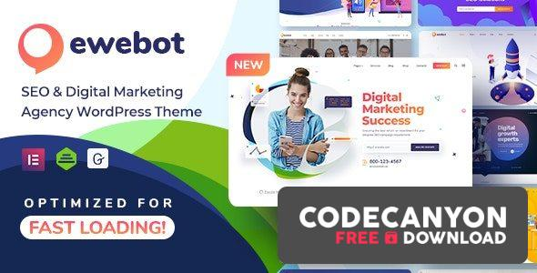 Download Ewebot v2.3.2 – Marketing SEO Digital Agency (Nulled) Free / Nulled