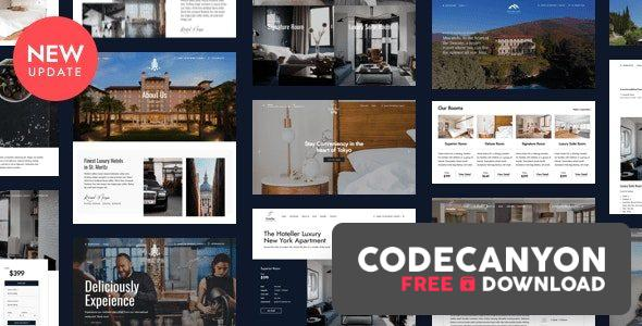 Download Hotel Booking WordPress v5.1.1 (Nulled) Free / Nulled