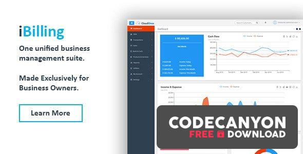 Download iBilling v4.8.4 – CRM, Accounting and Billing Software Free / Nulled