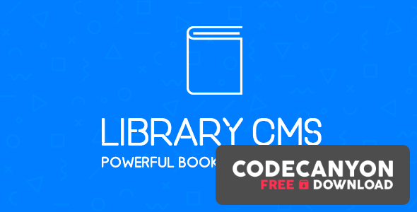 Download Library CMS v2.2.1 – Powerful Book Management System Free / Nulled