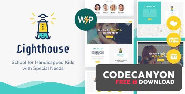 Download Lighthouse v1.2.2 – School for Kids with Disabilities & Special Needs WordPress Theme Free / Nulled
