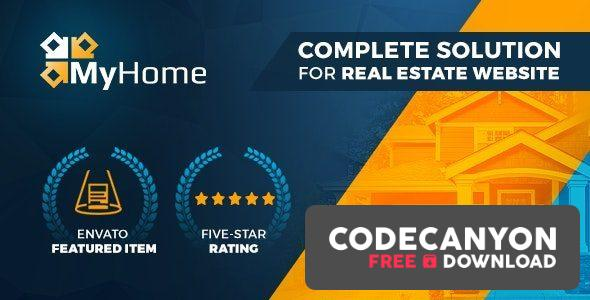 Download MyHome Real Estate WordPress v3.1.48 Free / Nulled