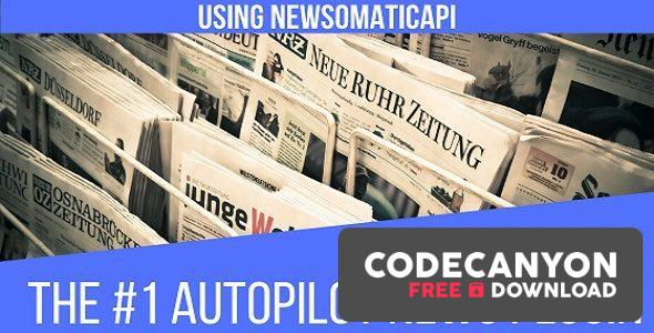 Download Newsomatic v3.1.0 – Automatic News Post Generator Plugin for WordPress (Nulled) Free / Nulled