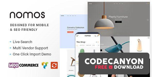 Download Nomos v2.4.9 – Modern AJAX Shop Designed For Mobile And SEO Friendly (RTL Supported) Free / Nulled