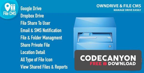 Download OwnDrive & File CMS Free / Nulled