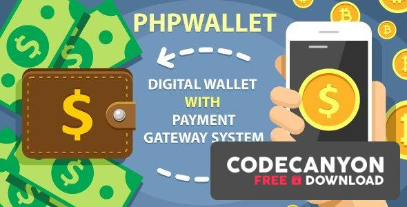 Download phpWallet v3.4 – e-wallet and online payment gateway system. Free / Nulled