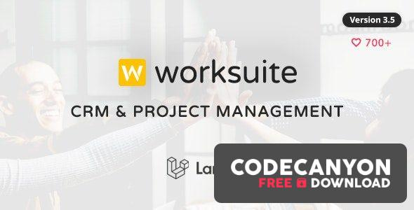 Download WORKSUITE v3.5.4 – CRM and Project Management (Nulled) Free / Nulled