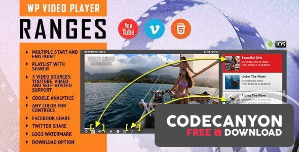Download RANGES v1.1 – Video Player With Multiple Start and End Points – WordPress Plugin Free / Nulled