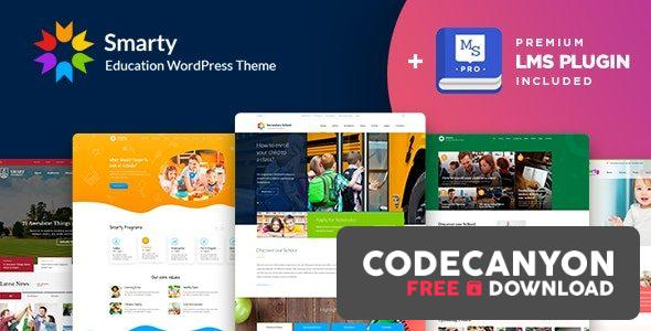 Download Smarty v3.4.5 – School Kindergarten WordPress theme (Nulled) Free / Nulled