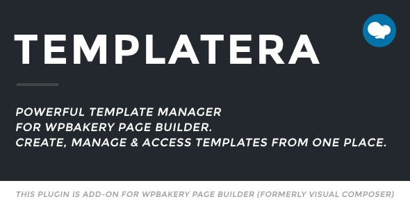 Download Templatera v2.0.4 - Template Manager for WPBakery Page Builder Free / Nulled