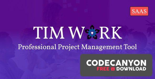 Download TimWork SaaS v1.0 – Project Management Tool Free / Nulled