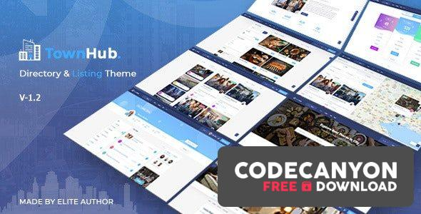 Download TownHub v1.5.2 – Directory & Listing WordPress Theme Free / Nulled
