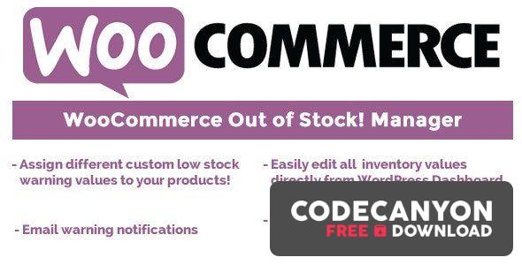 Download WooCommerce Out of Stock! Manager v4.4 Free / Nulled