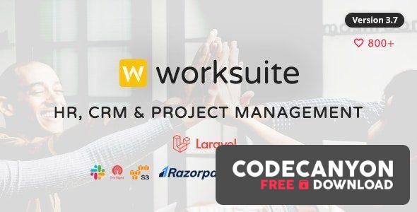 Download WORKSUITE v4.0.1 – CRM and Project Management (Nulled) Free / Nulled