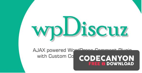 Download wpDiscuz Premium v7.0.9 – WordPress Comments Plugin (+Addons) Free / Nulled